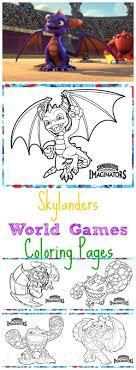 Free Printable Skylanders Swap Force Coloring Pages Invitations World Games Activities Kids Sponsored Giant