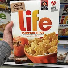 Tim Hortons Pumpkin Spice Latte Calories by Found Pumpkin Spice Life Cereal Snack Gator