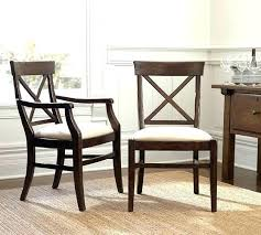 Best Dining Room Chairs Upholstered Chair Pottery Barn Roll Over Image To
