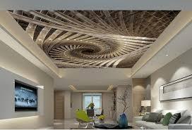 custom 3d moderne decke wandmalereien spirale royal geometrische kunst 3d tapete für decke wohnzimmer tapete große wand mura