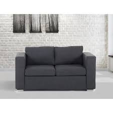 canapé en tissu gris canapé 2 places canapé en tissu gris foncé sofa helsinki