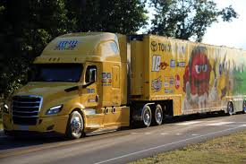 100 Timmons Truck Center Parade Takes Race Cars To Darlington Track Local News