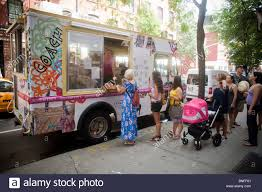 A Van Leeuwen Artisan Ice Cream Truck Is Seen Decorated By Coach Inc ... Vegan Chocolate Sorbet Chroma Kitchen For The Color Curious Eater Van Leeuwen Platform Nycs Ice Cream Lands A Cbook Deal Eater Artisan Identity And Packaging On Behance Chocolate Michel Cluizel Pistachio Cone Yelp The Big Gay Truck Inquiring Minds In Nyc Places To Go Things Do Lauren Loves Eat Uber Introduces Ondemand Trucks For Day Other Stories Scenesquid Restaurants Los Angeles