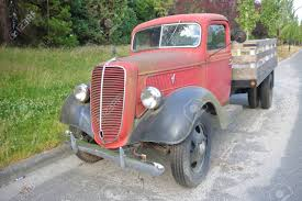 100 1938 Ford Truck A Tough And Rugged Pickup Parked On A Vancouver