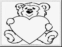 Terrific Printable Valentines Day Coloring Pages With Valentine And