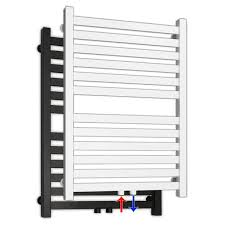 design badheizkörper mit mittenanschluss eckiges profil badezimmer heizkörper handtuchwärmer handtuchhalter inkl befestigung