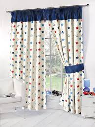 kids childrens stars thermal blackout curtains boys girls pink