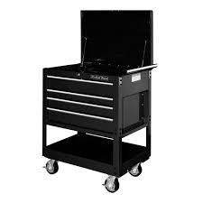 Extreme Tools 32 In. 4-Drawer Deluxe Utility Cart In Black ... Top Side Mount Truck Tool Box Boxes Americvancom Electrician Talk Professional Electrical Shop At Lowescom Deluxe Work Bed W Toolboxes Load Trail Trailers For Sale Drawer Service Utility Organizers Build A Organizer Thatll Fit Norstar Sd Bodies Douglass How To Install Storage System Bed And Amazoncom Spg Zrt3405bk Black 34 5 Road Chest Home Cstruction Transport Ideas Pro Tips
