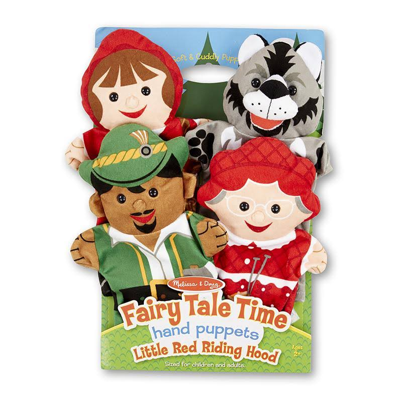 Fairy Tale Time Hand Puppets - Set of 4