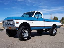 100 Old Chevy 4x4 Trucks For Sale Big Block 4X4 Restored 1972 Chevrolet K10 4Speed Bring A Trailer
