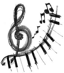 Clip Arts Related To Music Note Coloring Pages