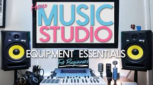 Home Music Studio Equipment