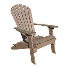 Lowes Canada Adirondack Chairs by Shop Phat Tommy Weatherwood Recycled Poly Folding Patio Adirondack