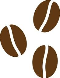 Coffee Beans Clipart Black And White