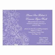 Wedding Reception Invitations Best Post Wedding Reception