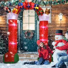 3 Meters Merry Christmas Letter And Tree Wall And Door Hanging Party
