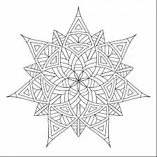 Good Geometric Design Coloring Pages With Designs And Mandala