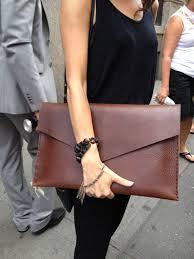 legal folder large leather clutch leather document envelope