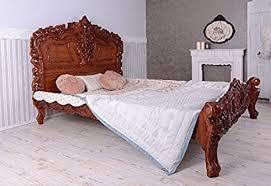antyki i sztuka rokoko doppelbett in silber ca 160x200cm