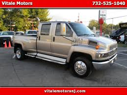 100 Pickup Truck Sleeper Cab Used 2005 Chevrolet C4E042 C4500 KODIAK CREW SLEEPER CAB