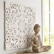 White Carved Wall Decor Pier 1