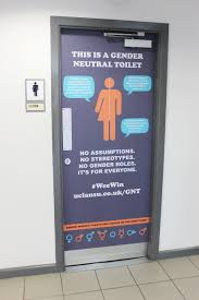 Gender Inclusive Bathroom Sign by Gender Neutral Toilets University Of Central Lancashire Students