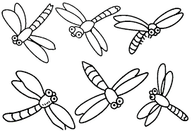 Coloring Pages For Adults Easy Color By Number Maths Worksheets Free Pond Animals Math Activities Dragonfly