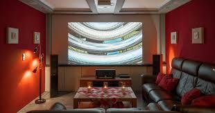 heimkino mit beamer tv lift und dolby atmos setup