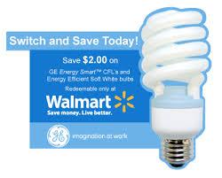 2 00 1 ge energy smart cfl coupon 13 for 3pk at walmart