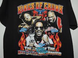 Lil Jon Kings Of Crunk Vintage Hip Hop Rap Concert T Shirt