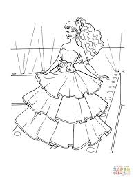 Click The Flamenco Dress Coloring Pages