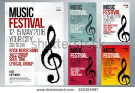 Music Event Design Suitable For Poster Promotional Flyer Invitation Banner Or Magazine