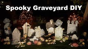 Halloween Graveyard Fence Decoration by How To Create A Spooky Halloween Graveyard Youtube