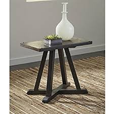 Signature Design By Ashley Zenfield Medium Brown Chair Side End Table