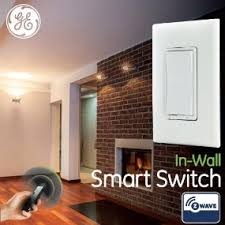Z Wave Ceiling Fan And Light Control by Ge Z Wave Wireless Smart Lighting Control Smart Switch On Off In