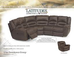 Flexsteel Power Reclining Couch by Flexsteel Latitudes Reclining 1710 Downtown Sectional Group