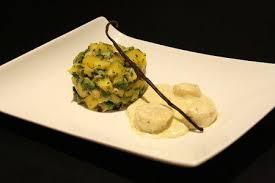 cuisiner les coquilles st jacques surgel馥s recette jacques la cèrme la vanille tartare avocat mangue