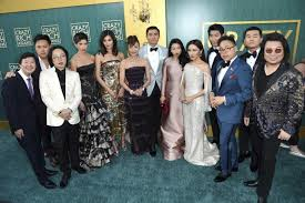 The Cast And Crew Of Crazy Rich Asians Arrive At Films Premiere TCL Chinese Theatre On Tuesday Aug 7 2018 In Los Angeles