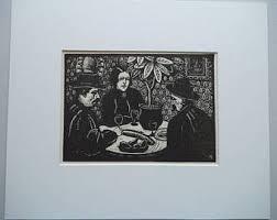 Rare Vintage Wood Engraving Print