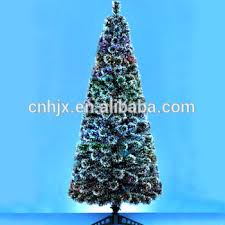 Cheap Fiber Optic Christmas Tree 6ft by Tall Fiber Optic Artificial Christmas Tree With Snow Effect Multi