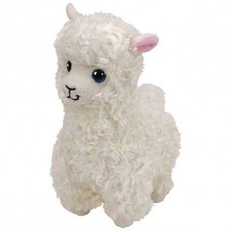 Ty Beanie Babies Stuffed Animal Soft Plush Toy - Lily The Llama Alpaca