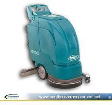 reconditioned tennant 5100 17 walk behind floor scrubber