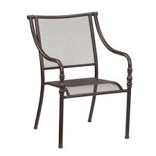 Hampton Bay Mix And Match Stack Patio Dining Chair - $49 ... Comfortcare 5piece Metal Outdoor Ding Set With 52 Round Table T81 Chair Provence Hampton Bay Mix And Match Stack Patio 49 Amazoncom Christopher Knight Home Lala Grey 7 Chairs Of 4 Tivoli Tub Black Merilyn Rope Steel Indoor Beige Washington Coal Click Pc Stainless Steel Teak Modern Rialto Rectangle 6