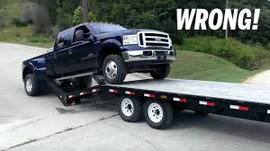 It's Time Everyone Learns The Proper Way To Load A Trailer - The Drive