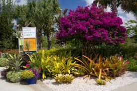 Naples Botanical Garden Entrance