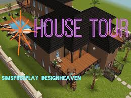 Sims Freeplay Second Floor by Sims Freeplay House Tour Beachside Latin Inspired Home Sims
