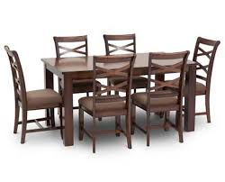 7 Furniture Row Dining Room Tables Set Full Screen Rollover To