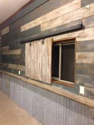 texas rustic kitchen ideas how did you trim your corrugated
