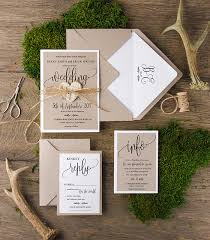 Handmade Wedding Invitations Custom Made For You Rustic Invitation Wood Invites