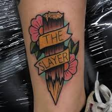Slayer Tattoos The Slayer Tattoogrid Net